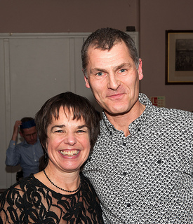 Club Champs Gail Arnott and Chris Lydon
